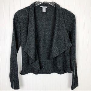 H&M Wool Blend Gray Cardigan